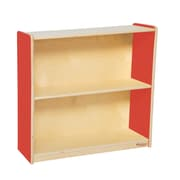 "Wood Designs Strawberry Red™ Bookshelf, 29-1/16""H (12930R)"