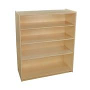 "Wood Designs Bookshelf with Adjustable Shelves, 42-7/16""H (12942AJ)"
