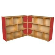 "Wood Designs Strawberry Red™ Folding Storage, 43-5/8""H (14700R)"