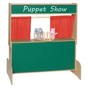 Wood Designs Deluxe Puppet Theater with Chalkboard (21650)