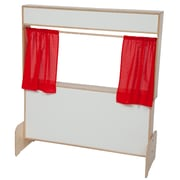 Wood Designs Deluxe Puppet Theater with Markerboard (21651)
