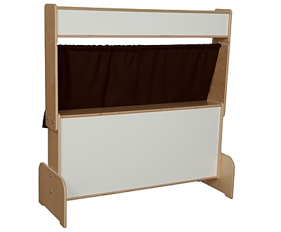 Wood Designs Deluxe Puppet Theater with Markerboard
