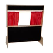 Wood Designs Deluxe Puppet Theater with Flannelboard (21652)
