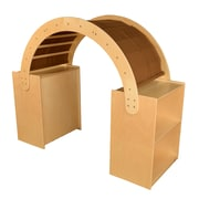 Wood Designs Read & Play Canopy with Brown Canopy (991114BN)