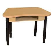 """Wood Designs Synergy 18"""" x 30"""" High Pressure Laminate Desk with Adjustable Legs 18""""-29"""""""
