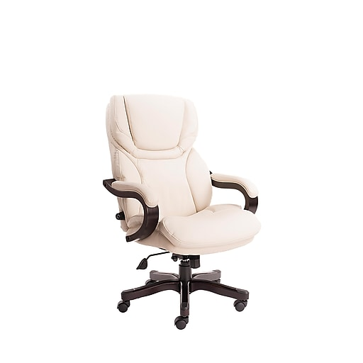Serta Big And Tall Bonded Leather Executive Office Chair With