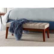 Elle Decor Claire Tufted Bench, Vanilla Cream (OTMCLRVANM02)