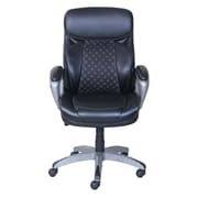 Serta Accucell Bonded Leather Manager's Chair, Black (48110)