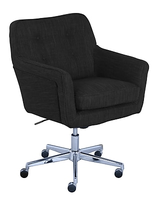 Serta Ashland Fabric Home Office Chair, Charcoal (48447)
