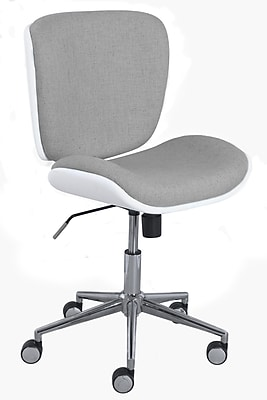 Serta Style Collection Haylie Fabric Office Chair, Heather/White (CHR200025)