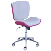 Serta Style Collection Haylie Fabric Office Chair, Heather/Fuchsia (CHR200026)