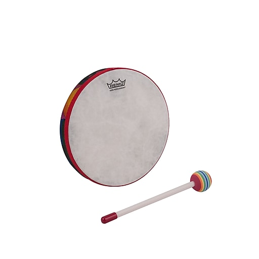 "Remo Kids Percussion Hand Drum, 8"", Rainforest"
