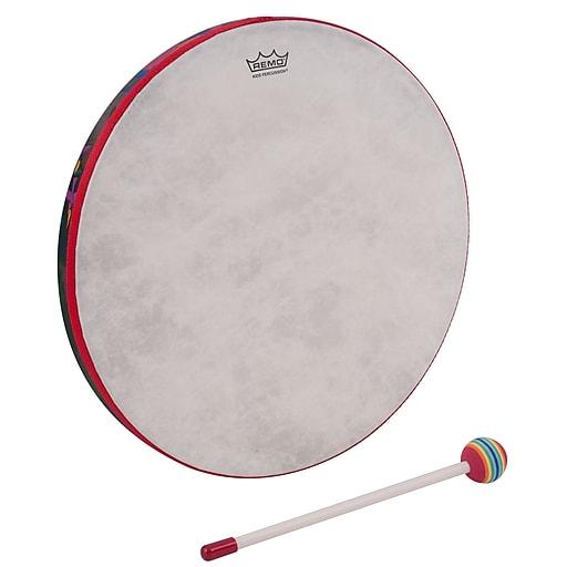 "Remo Kids Percussion Hand Drum, 14"", Rainforest"
