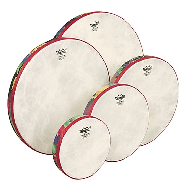 Remo Kids Percussion Hand Drum Set of 5, 6