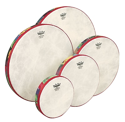 Remo Kids Percussion Hand Drum, Rainforest, Set of 5