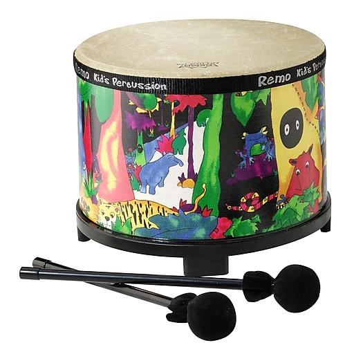 "Remo Kids Percussion Floor Tom, 10"", Rainforest"