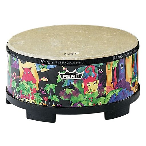 "Remo Kids Percussion Gathering Drum, 18"", Rainforest (KD-5818-01)"