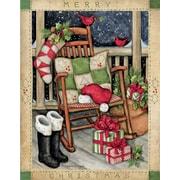 LANG SANTA'S ROCKER BOXED CHRISTMAS CARDS (1004761)