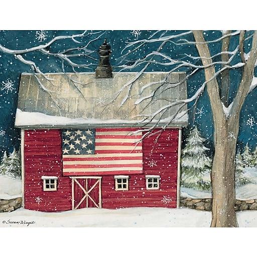 Boxed Christmas Cards.Lang Patriotic Holiday Boxed Christmas Cards 1004762