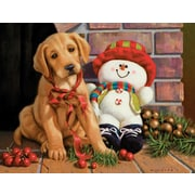 LANG NEW FOUND  FRIENDS BOXED CHRISTMAS CARDS (1004766)