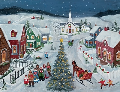 LANG SILENT NIGHT BOXED CHRISTMAS CARDS (1004768)