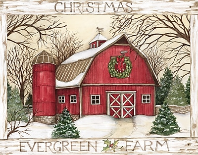 LANG EVERGREEN FARM BOXED CHRISTMAS CARDS (1004799)