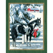 LANG HOLIDAY STABLES BOXED CHRISTMAS CARDS (1004802)
