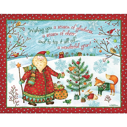 Shop Staples For LANG SANTA'S GIFT BOXED CHRISTMAS CARDS