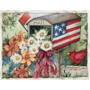 LANG FLAG MAILBOX BOXED NOTE CARDS (1005341)