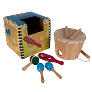 Sounds Like Fun Shake Rattle and Drum Set, 7 Player