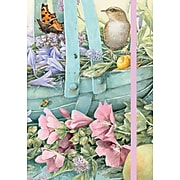 """Lang Basket of Flowers Journal,  6''W x 8.25""""L, 192 Ruled Sheets (1009524)"""