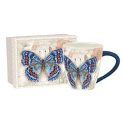 Lang Carte Postale Beautiful Butterfly Café Mug Ceramic, 17 oz Capacity (10992121039)