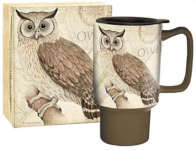 Lang Owl Travel Ceramic Mug, 18 oz Capacity (10992127017)
