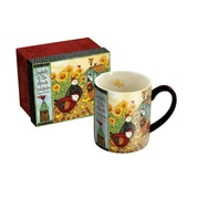 Lang Chicken Coop 14 oz Mug (10995021039)