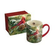 Lang December Dawn Cardinal 14 oz Mug (10995021046)