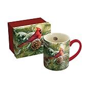 Lang December Dawn Cardinal 14 oz Mug (10995021046)