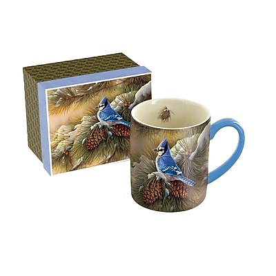 Lang December Blue Jay 14 oz Mug (10995021071)