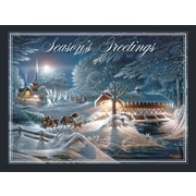 LANG EVENING FROST CLASSIC CHRISTMAS CARD (2004040)