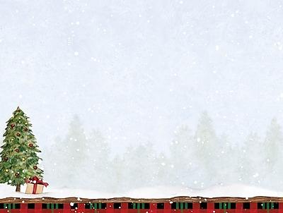 LANG GRAZING MORNING PETITE CHRISTMAS CARD (2004533)