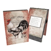 Lang Cardinal Rooster Vertical Recipe Card Album (2016009)