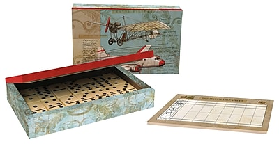 LANG VINTAGE TRAVEL DOMINO SET (2184003)