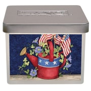 LANG Old Glory Small Jar Candle, 12.5 Oz (3114012)