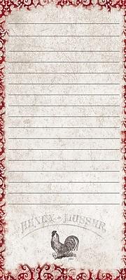 LANG CARDINAL ROOSTER MINI LIST PAD (4005196)