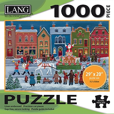 LANG CHRISTMAS PARADE PUZZLE - 1000 PC (5038011)