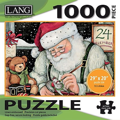 LANG SANTA'S WORKSHOP PUZZLE - 1000 PC (5038021)