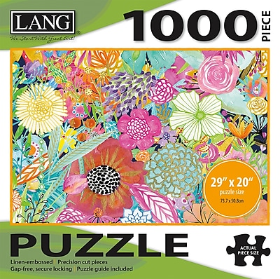 LANG GARDEN WILDFLOWERS PUZZLE - 1000 PC (5038026)