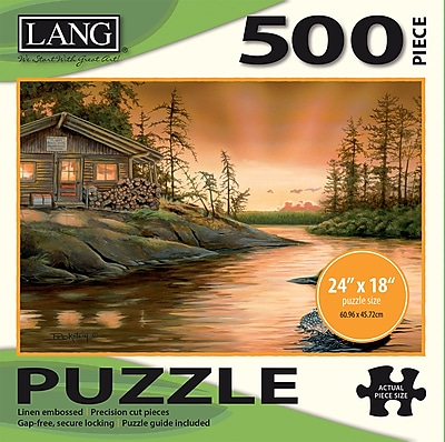 LANG CABIN ON THE NARROWS PUZZLE - 500 PC (5039106)