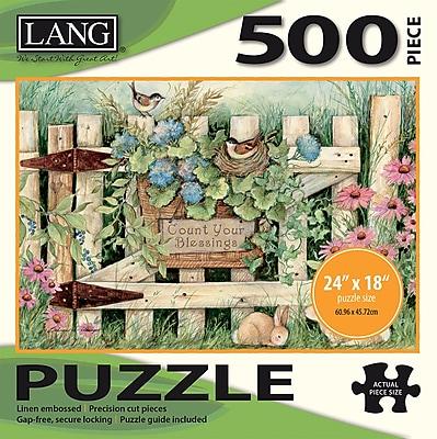 LANG GARDEN GATE PUZZLE - 500 PC (5039112)