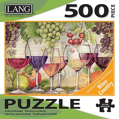 LANG TASTING FLIGHT PUZZLE - 500 PC (5039127)