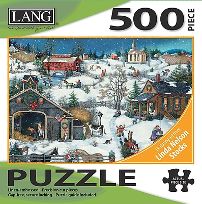 LANG CHRISTMAS MEMORIES PUZZLE - 500 PC (5039128)